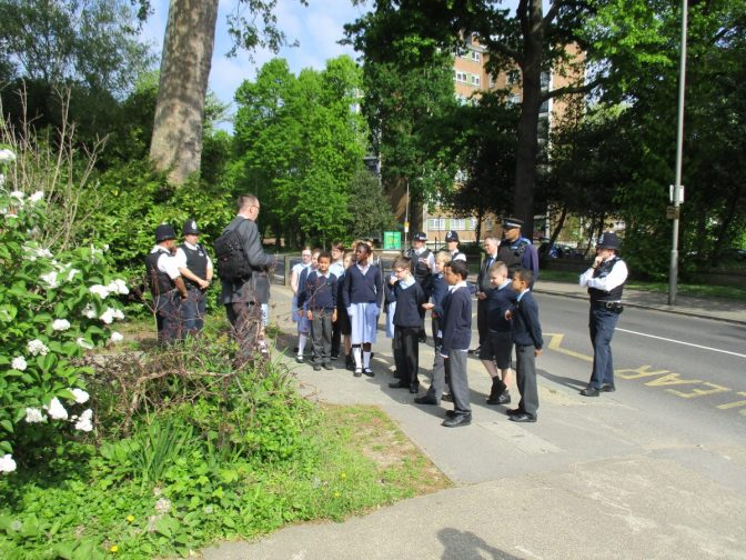 Road Safety Talk for Local School